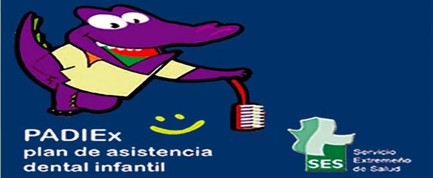 PADIEx (Plan de Atención Dental Infantil de Extremadura).